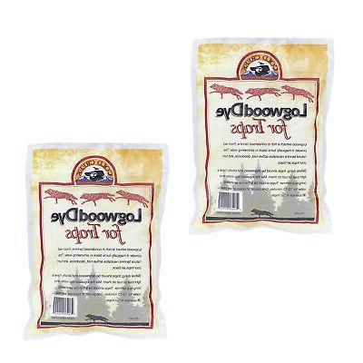 RC | Logwood Dye 2 Pound Black Logwood Dye Trapping