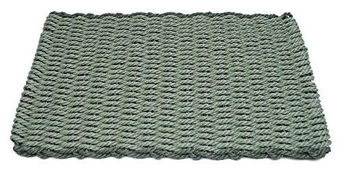 sage w evergreen rectangular handcrafted