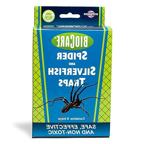 spider silverfish sticky traps