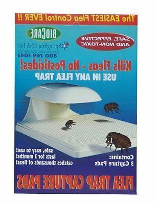 Springstar S103 Flea Trap Capture Pads - 3 Pads Per Box, New
