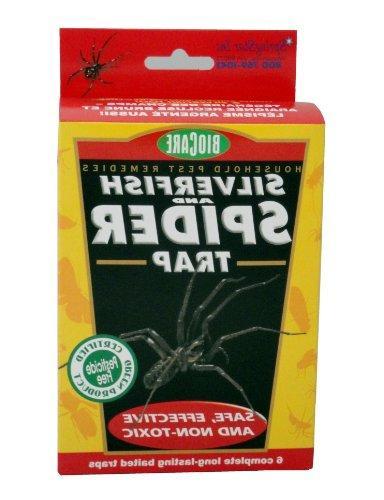 springstar spider silverfish traps
