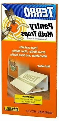 Terro T2900 Box of 2 Non-Toxic Pantry Moth Pest Insect Traps