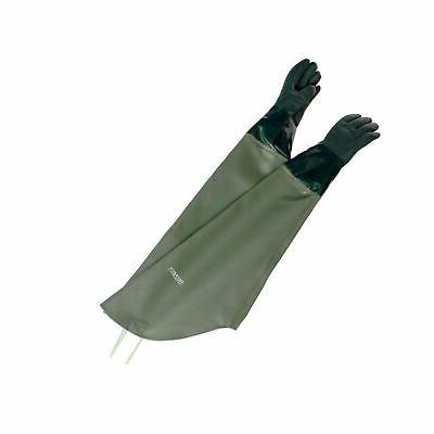 trapping gauntlet gloves 38in insulated waterproof gloves