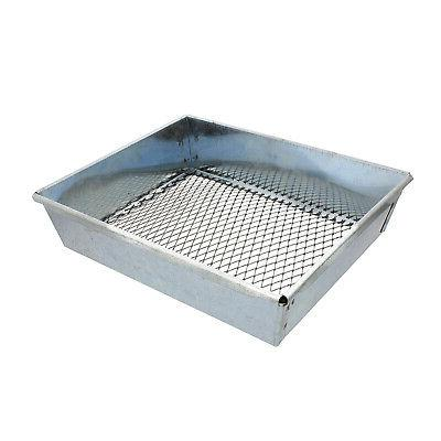 trapping sifter 9 by 7 inch metal