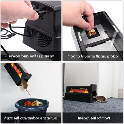 Electronic Trap Rodent Control electric Zapper US