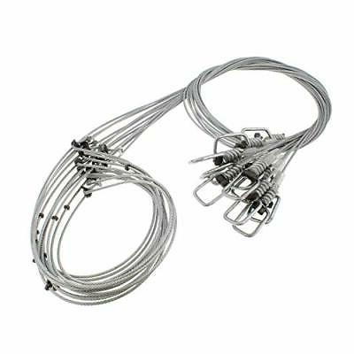 versatile snare wire trapping supplies 12 packcoyote