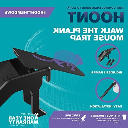 Hoont Walk the Bucket Mouse 2 - Grade Humane Killer, for Indoor - of Mice without Trap Poison