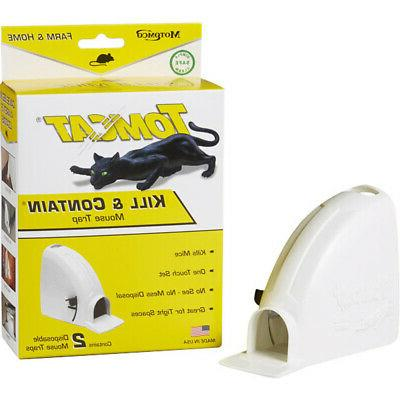 white tomcat kill and contain mouse trap