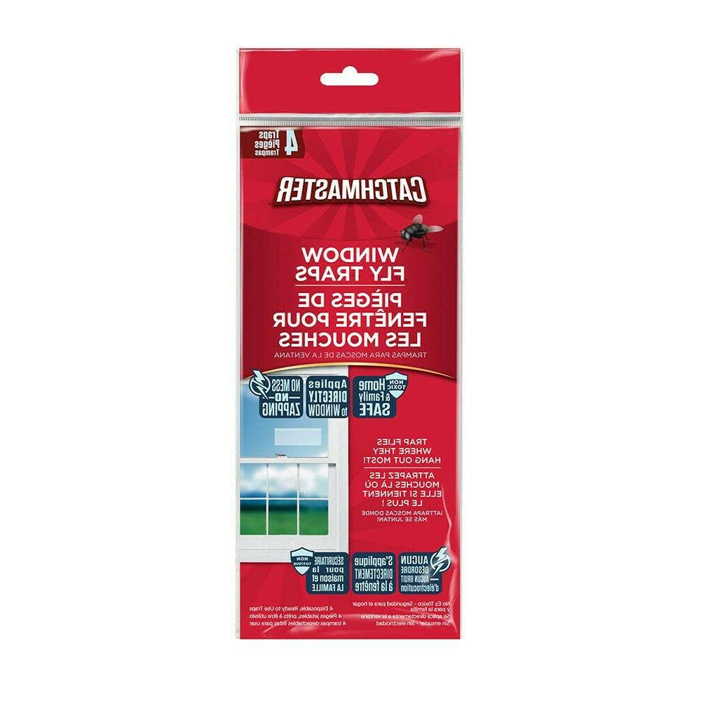 window fly and bug traps 904 clear