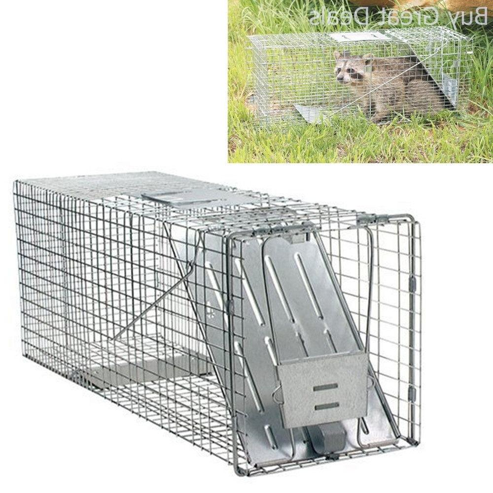 Havahart Woodstream Live Animal Trap Cage, 32-Inch Single Do