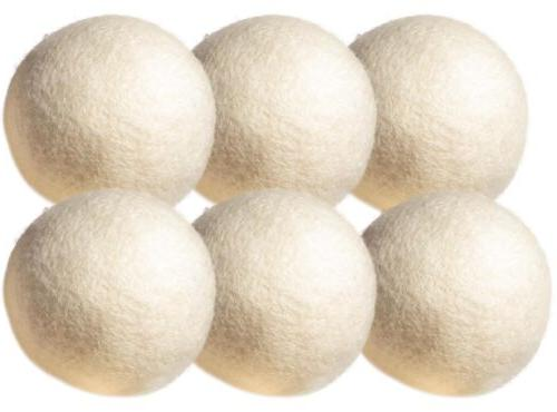 Wool Balls Pack Natural Organic Reusable Laundry