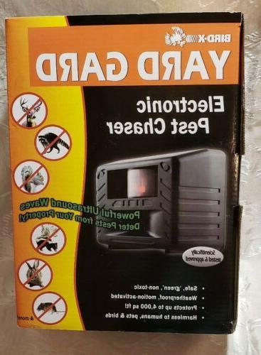 yg yardgard ultrasonic animal repeller