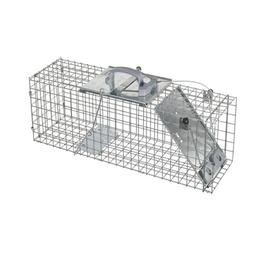 Large 1-Door Collapsible Easy Set Live Animal Cage Trap Racc