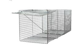 """Large 42""""x15""""x15"""" One Door Catch Release Heavy Duty Cage Liv"""