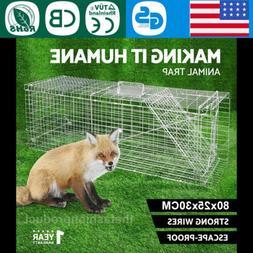 Large Folding Humane Animal Catching Trap Cage Possum Rat Ca
