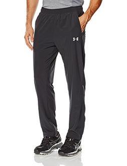 Under Armour Men's Launch Run Stretch-Woven Pants, Black /Re