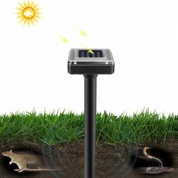 LED UV Trap Light Solar Outdoor Garden Animal Snake Pest Rej