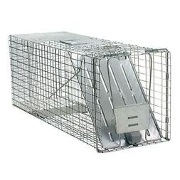 Cage Trap Live Animal Large 1-Door Professional for Raccoon