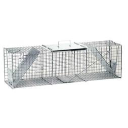 Live Animal Cage Trap Lawn Pest Control Extra Large 2 Door R