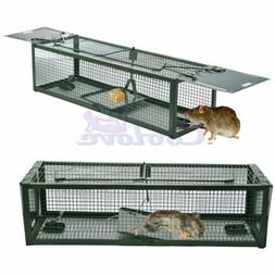 Live Animal Humane Trap 2-Door Mouse Cage Trap For Chipmunk