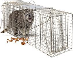 "OxGord Live Animal Trap - Humane Catch & Release Large 32"" C"