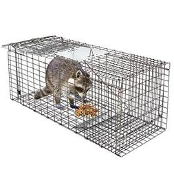 "HomGarden Live Animal Trap 32""x12.5""x12"" Catch Release Human"