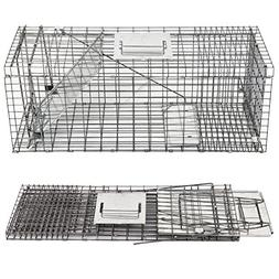 Smartxchoices 32 in Long Live Animal Trap Catch and Release