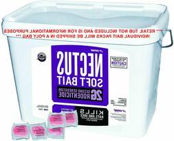 LOT of 100 Nectus Soft Bait 2LB+ Rat Mice Mouse Trap Poison
