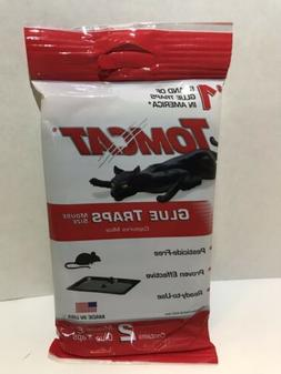 Lot of 3 Tomcat Glue Traps Mouse Trap 2 Pack = 6 Total No Pe