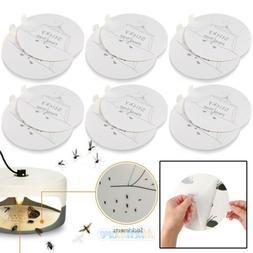Lots Disposable Flea Trap Sticker Sticky Dome Flea Trap Refi