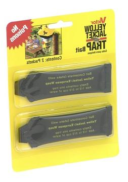 Victor M385 Pack of 2 Liquid Yellow Jacket Traps Bait ~ New