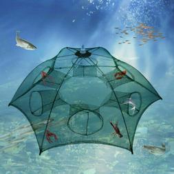 Magic Automatic Fishing Bait Trap Crab Net CrawdadShrimp Cas