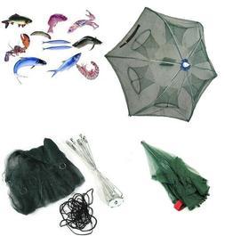 Magic Fishing Trap 6 Holes Full Automatic Folding Shrimp Cas
