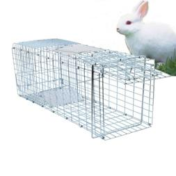 Metal Raccoon Skunk Poss Humane Pet Animal Trap Cage Rabbit