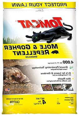 Tomcat 0373204 Mole and Gopher Repellent Granules, Safe for