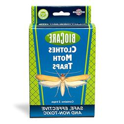 BioCare Clothes Moth Sticky Traps with Pheromone Lures, Nont
