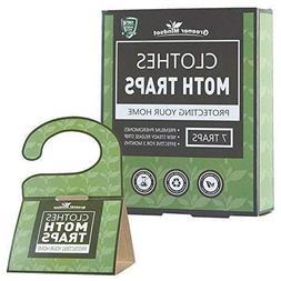 Greener Mindset Clothes Moth Traps 7-Pack with Premium Phero