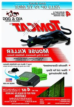 Tomcat Mouse Killer Refillable Station for Indoor/Outdoor Us