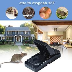 Gusame Set of 4 Mouse Traps, Premium Rat Traps That Work Hum