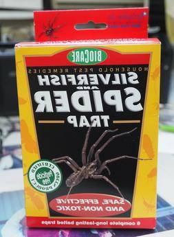 NEW Box of BioCare SILVERFISH & SPIDER TRAP