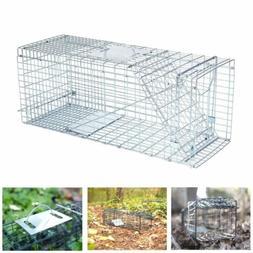 New Traps Live Cage Animal Pet Trap Skunk Squirrel Cat Racco