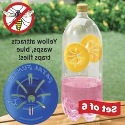 New Fatal Funnel Wasp and Hornet Traps or Fly Traps Re-useab