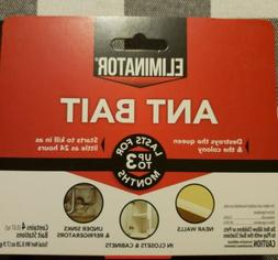 One pack of Eliminator ant bait stations 4 traps total