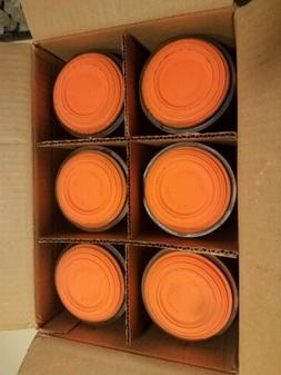 Orange Dome Clay Trap/Skeet Shooting Targets Made In  U.S.A.