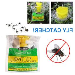 Portable Hang Fly Trap and Attractant Killer Pest Control Ou