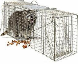 "OxGord Live Animal Trap 32"" X 12"" X 12"" Catch Release Humane"