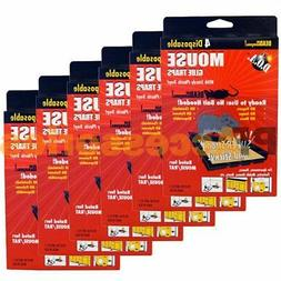 Pack of 24 D.O.A. Disposable Glue Traps for Mice Rats Mouse