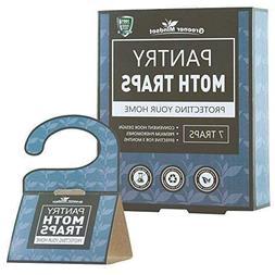 Pantry Moth Traps 7-pack with Premium Pheromone Attractant |