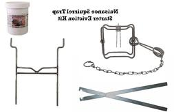 PcsOutdoors Nuisance Squirrel Starter Trap Eviction Kit