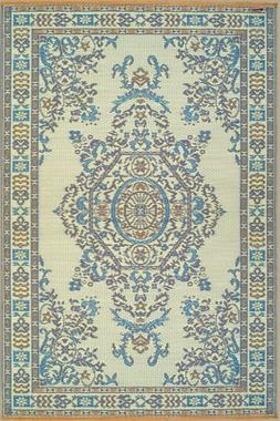 Mad Mats Persian Indoor/Outdoor Floor Mat, 4 by 6-Feet, Anda